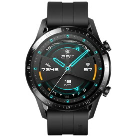 HUAWEI ファーウェイ WATCHGT246MMBK スマートウォッチ Watch GT2 46mm Matte Black[WATCHGT246MMBK]【ribi_rb】