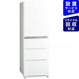 AQUA アクア 《基本設置料金セット》AQR-VZ46J-W 冷蔵庫 Delie(デリエ) クリアウォームホワイト [4ドア /右開きタイプ /458L][冷蔵庫 大型 AQRVZ46J_W]