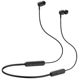 ヤマハ YAMAHA bluetoothイヤホン カナル型 ブラック EP-E30AB [リモコン・マイク対応 /ワイヤレス(左右コード) /Bluetooth][EPE30AB]