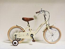 アサヒサイクル Asahi Cycle 16型 幼児用自転車 Goteborg ヨーテボリ(ミルクホワイト/シングルシフト) CBC16 #592【組立商品につき返品不可】 【代金引換配送不可】