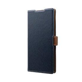 MSソリューションズ Galaxy Note 10+ PIECE 手帳型ケース ネイビー