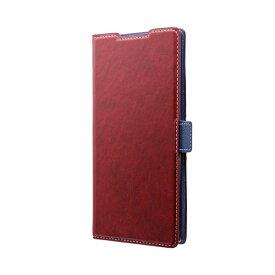 MSソリューションズ Galaxy Note 10+ PIECE 手帳型ケース レッド