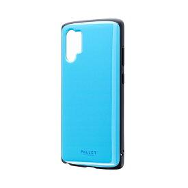 MSソリューションズ Galaxy Note 10+ PALLET AIR ケース スカイブルー