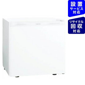 東芝 TOSHIBA 《基本設置料金セット》GR-HB30PA-WU 冷蔵庫 ホワイト [1ドア /右開きタイプ /27L][冷蔵庫 小型 一人暮らし GRHB30PAWU]【zero_emi】