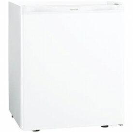 東芝 TOSHIBA 《基本設置料金セット》GR-HB40PA-WU 冷蔵庫 ホワイト [1ドア /右開きタイプ /38L][冷蔵庫 小型 一人暮らし GRHB40PAWU]【zero_emi】