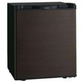東芝 TOSHIBA 《基本設置料金セット》GR-HB40PA-TS 冷蔵庫 ブラウン [1ドア /右開きタイプ /38L][冷蔵庫 小型 一人暮らし GRHB40PATS]【zero_emi】