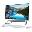 DELL デル FI557-9WHBSC デスクトップパソコン Inspiron 24 5490 シルバー [23.8型 /HDD:1TB /SSD:256GB /メモリ:8GB /2019年秋冬モデル][23.8インチ office付き 新品 一体型 windows10]