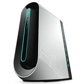 DELL デル DA90VR-9WLW ゲーミングデスクトップパソコン ALIENWARE AURORA R9 ルナライト(シルバーホワイト) [モニター無し /HDD:2TB /SSD:512GB /メモリ:16GB /2019年秋冬モデル][DA90VR9WLW]