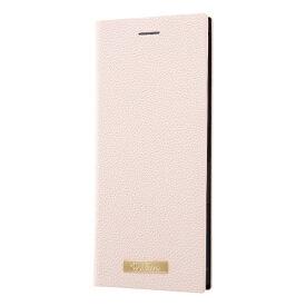 レイアウト rayout Xperia 8 手帳レザー TETRA サイドマグネット プレート/ピンク