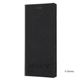 レイアウト rayout Xperia 5 ディズニー/ 手帳レザー サイドマグネット/ミッキー