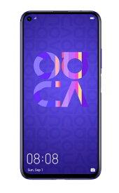 HUAWEI ファーウェイ nova 5T ミッドサマーパープル「NOVA5TPURPLE」6.26型 メモリ/ストレージ:8GB/128GB nanoSIM x2 DSDV対応 ドコモ/ソフトバンク対応 SIMフリースマートフォン