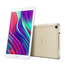 HUAWEI ファーウェイ JDN2-W09 Androidタブレット MediaPad(メディアパッド) M5 lite 8 シャンパンゴールド [8型 /ストレージ:64GB /Wi-Fiモデル][タブレット 本体 8インチ wifi][M5LITE8WIFI64G]