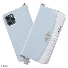 イングレム Ingrem iPhone 11 Pro 『アナと雪の女王』/手帳型レザーケース Collet チャーム付き/『アナと雪の女王/OTONA』_01 IS-DP23LC15/FR001 『アナと雪の女王/OTONA』_01