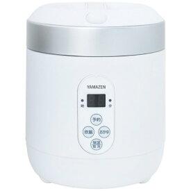 ヤマゼン YAMAZEN YJG-M150-W 炊飯器 ホワイト [1.5合 /マイコン][炊飯器 一人暮らし YJGM150]