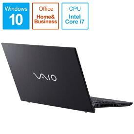 VAIO バイオ VJS15490111B ノートパソコン VAIO S15 ブラック [15.6型 /intel Core i7 /HDD:1TB /SSD:256GB /メモリ:16GB /2019年11月モデル][15.6インチ office付き 新品 windows10]