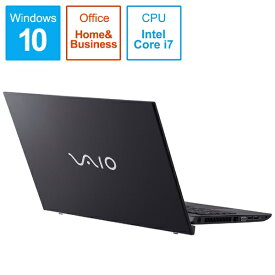 VAIO バイオ VJS15490211B ノートパソコン VAIO S15 ブラック [15.6型 /intel Core i7 /HDD:1TB /メモリ:8GB /2019年11月モデル][15.6インチ office付き 新品 windows10]
