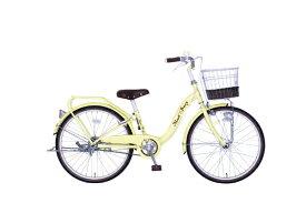 タマコシ Tamakoshi 22型 子供用自転車 マッシュベリー22HD(イエロー/シングルシフト)【組立商品につき返品不可】 【代金引換配送不可】