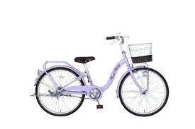 タマコシ Tamakoshi 24型 子供用自転車 マッシュベリー24HD(パープル/シングルシフト)【組立商品につき返品不可】 【代金引換配送不可】