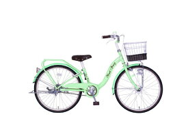 タマコシ Tamakoshi 24型 子供用自転車 マッシュベリー24HD(グリーン/シングルシフト)【組立商品につき返品不可】 【代金引換配送不可】
