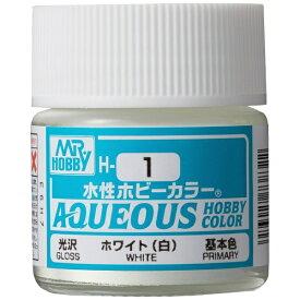 GSIクレオス GSI Creos 水性ホビーカラー H1 ホワイト(白)