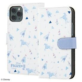 イングレム Ingrem iPhone 11 Pro 『アナと雪の女王2』/手帳型アートケース マグネット/『アナと雪の女王2/総柄』_01 IN-DP23MLC2/FR002 『アナと雪の女王2/総柄』_01