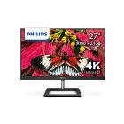 フィリップス PHILIPS PCモニター ブラック 278E1A/11 [27型 /4K(3840×2160) /ワイド][27インチ 液晶ディスプレイ 278E1A11]