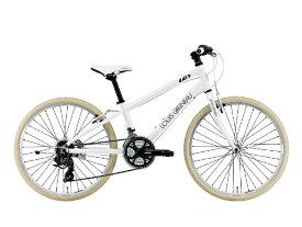 ルイガノ 24型 子供用自転車 J24 Cross(LG WHITE/外装21段変速)J24ROAD【組立商品につき返品不可】 【代金引換配送不可】