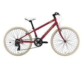ルイガノ 24型 子供用自転車 J24 Cross(LG RED/外装21段変速)J24ROAD【組立商品につき返品不可】 【代金引換配送不可】