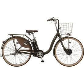 ブリヂストン BRIDGESTONE 26型 電動アシスト自転車 フロンティア デラックス【オリジナルカラー】(カーキ/3段変速) F6BB40【2020年モデル】【組立商品につき返品不可】【point_rb】 【代金引換配送不可】
