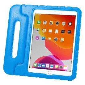 サンワサプライ SANWA SUPPLY 10.2インチ iPad(第7世代)用 衝撃吸収ケース PDA-IPAD1605BL ブルー
