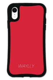 ケースオクロック caseoclock iPhoneXR WAYLLY-MK セット ドレッサー スモールロゴ レッド mksl-set-xr-red