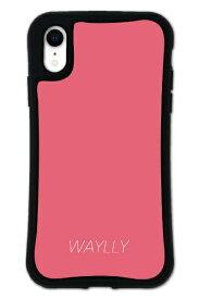ケースオクロック caseoclock iPhoneXR WAYLLY-MK セット ドレッサー スモールロゴ ピーチピンク mksl-set-xr-ppk