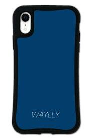 ケースオクロック caseoclock iPhoneXR WAYLLY-MK セット ドレッサー スモールロゴ ネイビー mksl-set-xr-nv