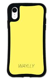 ケースオクロック iPhoneXR WAYLLY-MK セット ドレッサー スモールロゴ イエロー mksl-set-xr-yel