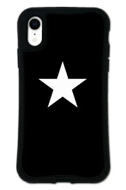 ケースオクロック caseoclock iPhoneXR WAYLLY-MK セット ドレッサー スター ブラック×ホワイト mkst-set-xr-blw