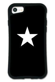 ケースオクロック caseoclock iPhone6/6s/7/8 WAYLLY-MK セット ドレッサー スター ブラック×ホワイト mkst-set-678-blw
