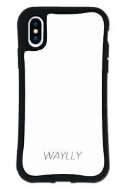ケースオクロック caseoclock iPhoneX/XS WAYLLY-MK セット ドレッサー スモールロゴ ホワイト mksl-set-x-wht