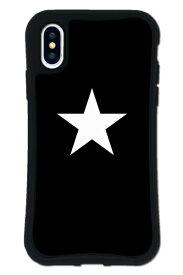 ケースオクロック caseoclock iPhoneX/XS WAYLLY-MK セット ドレッサー スター ブラック×ホワイト mkst-set-x-blw