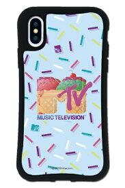 ケースオクロック caseoclock iPhoneX/XS WAYLLY-MK × MTVオリジナル セット ドレッサー MTV ロゴ アイスクリーム mkmtvo-set-x-ice