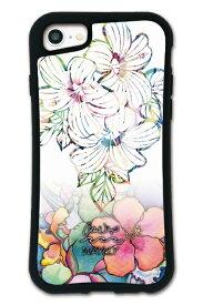 ケースオクロック caseoclock iPhone6/6s/7/8 WAYLLY-MK × Colleen Malia Wilcox セット ドレッサー ホワイトハイビスカス mkcln-set-678-whb