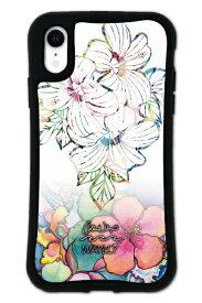 ケースオクロック caseoclock iPhoneXR WAYLLY-MK × Colleen Malia Wilcox セット ドレッサー ホワイトハイビスカス mkcln-set-xr-whb