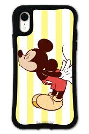 ケースオクロック caseoclock iPhoneXR WAYLLY-MK / ディズニーキャラクター 【セット】 ドレッサー ミッキーマウス ストライプ mkdsn-set-xr-mkst