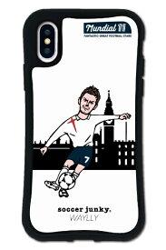 ケースオクロック caseoclock iPhoneX/XS WAYLLY-MK × サッカージャンキー/ジェリー 【セット】 ドレッサー E mksjj-set-x-e