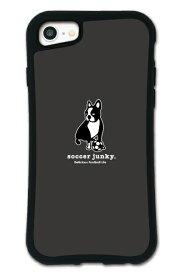 ケースオクロック caseoclock iPhone6/6s/7/8 WAYLLY-MK × サッカージャンキー/パンディアーニ 【セット】 ドレッサー ブラック mksjp-set-678-blk