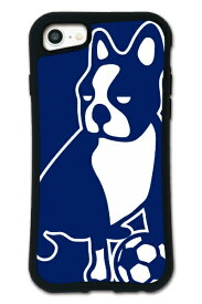 ケースオクロック caseoclock iPhone6/6s/7/8 WAYLLY-MK × サッカージャンキー/パンディアーニ 【セット】 ドレッサー ネイビー mksjp-set-678-nv