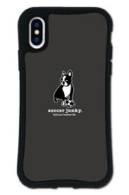 ケースオクロック caseoclock iPhoneX/XS WAYLLY-MK × サッカージャンキー/パンディアーニ 【セット】 ドレッサー ブラック mksjp-set-x-blk