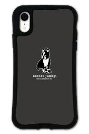 ケースオクロック caseoclock iPhoneXR WAYLLY-MK × サッカージャンキー/パンディアーニ 【セット】 ドレッサー ブラック mksjp-set-xr-blk