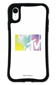 ケースオクロック caseoclock iPhoneXR WAYLLY-MK × MTVオリジナル セット ドレッサー MTV ロゴ ホワイト mkmtvo-set-xr-wht