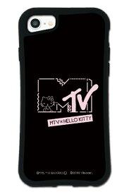 ケースオクロック caseoclock iPhone6/6s/7/8 WAYLLY-MK × MTV × ハローキティ セット ドレッサー カワイイポップ ロゴブラック mkmtvk-set-678-kbl