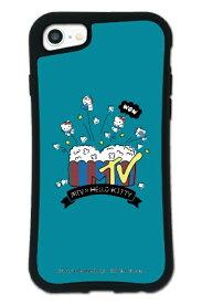 ケースオクロック caseoclock iPhone6/6s/7/8 WAYLLY-MK × MTV × ハローキティ セット ドレッサー ファンポップ ブルー mkmtvk-set-678-fbl